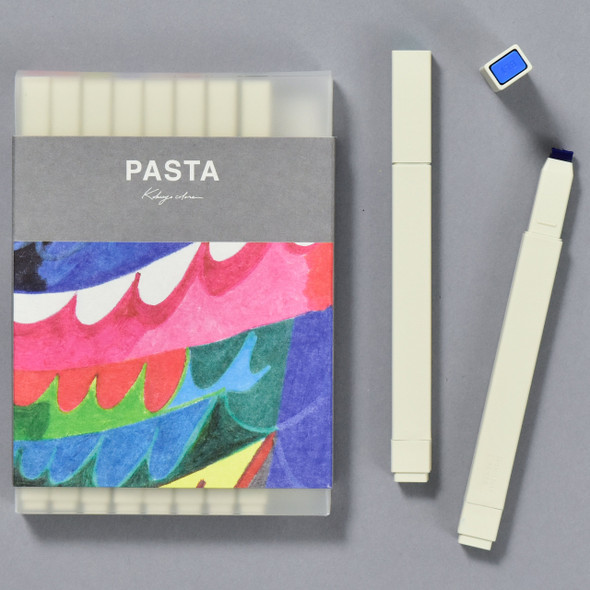Pasta Drawing and Graphic Markers Set, front of package