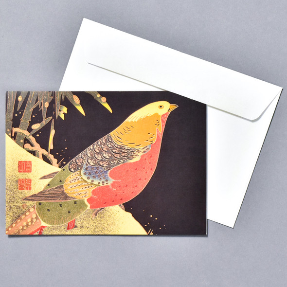 Ito Jakuchu: Golden Pheasant Holiday Boxed Set