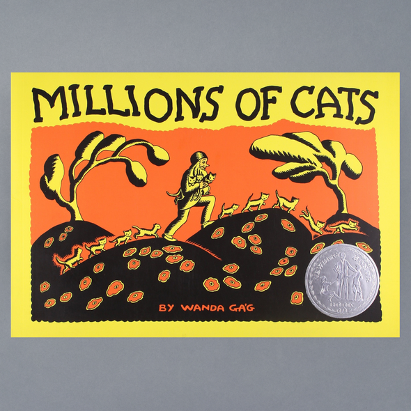 Millions of Cats Front cover of book Millions of Cats