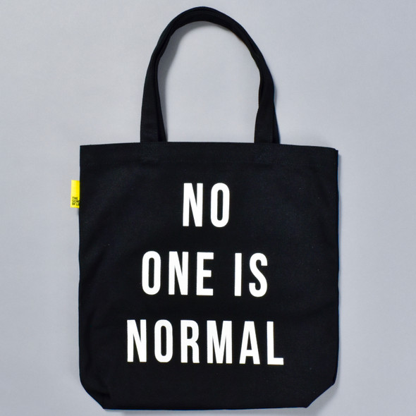 No One Is Normal Tote, front