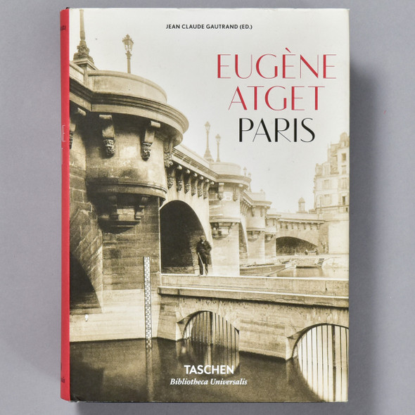 Eugene Atget: Paris, front of book