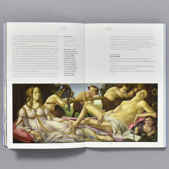 Art Essentials: Looking at Pictures, inside of book