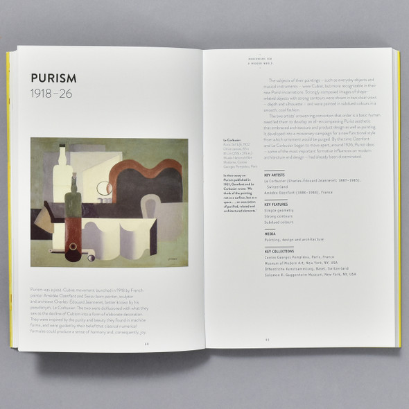 Art Essentials: Modern Art, pages from book