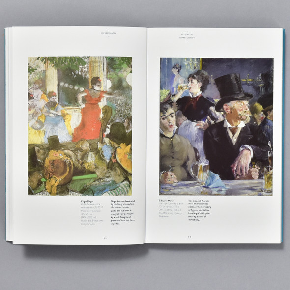 Pages from Art Essentials: Impressionism