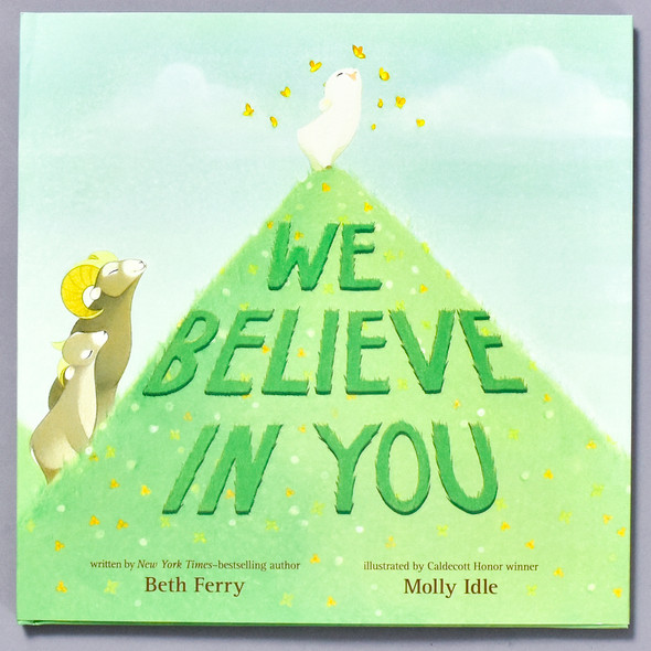 Front of book We Believe in You