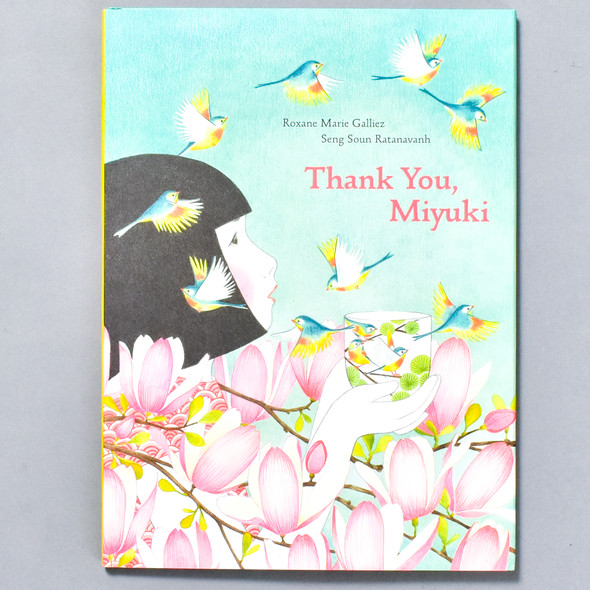 Front of book Thank You, Miyuki