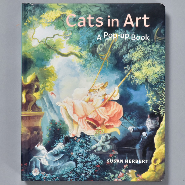 Cats in Art: A Pop-up Book, front