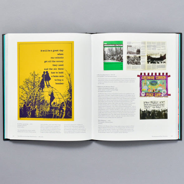 Pages from the book Protest! A History of Social and Political Protest Graphics