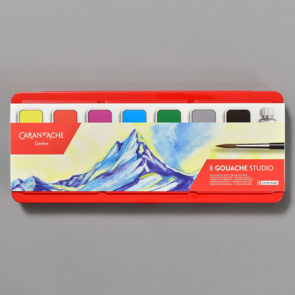 Caran d'Ache Gouache Set; front of package