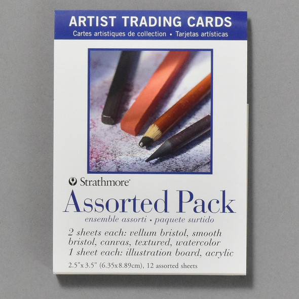 Strathmore Artist Trading Cards Assorted Pack, front of packaging