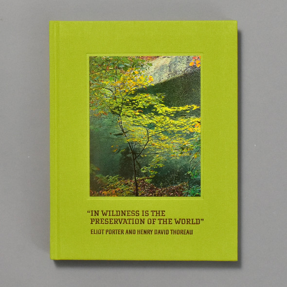 In Wildness is the Preservation of the World front cover