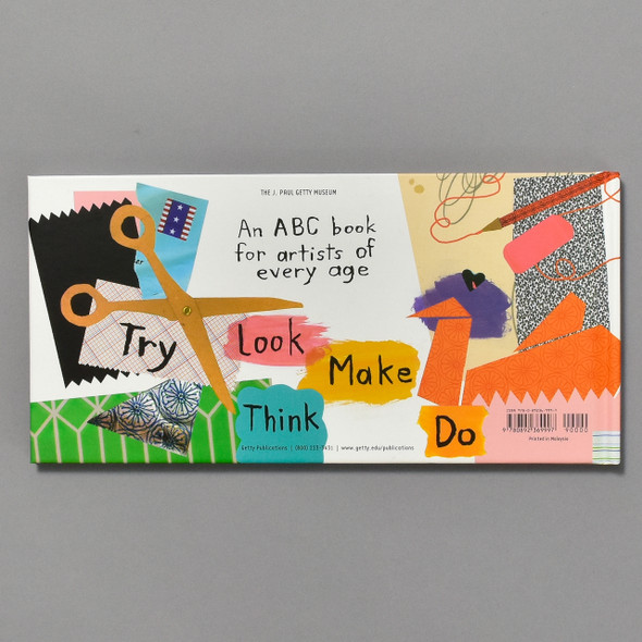 An ABC of What Art Can Be; back of book