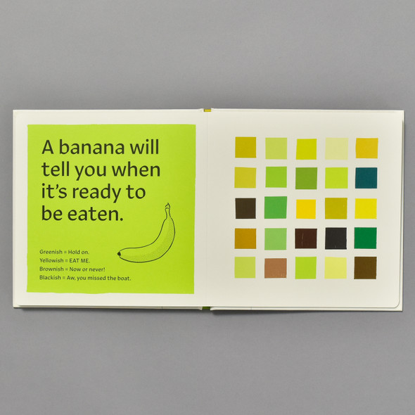 These Colors Are Bananas inside of book