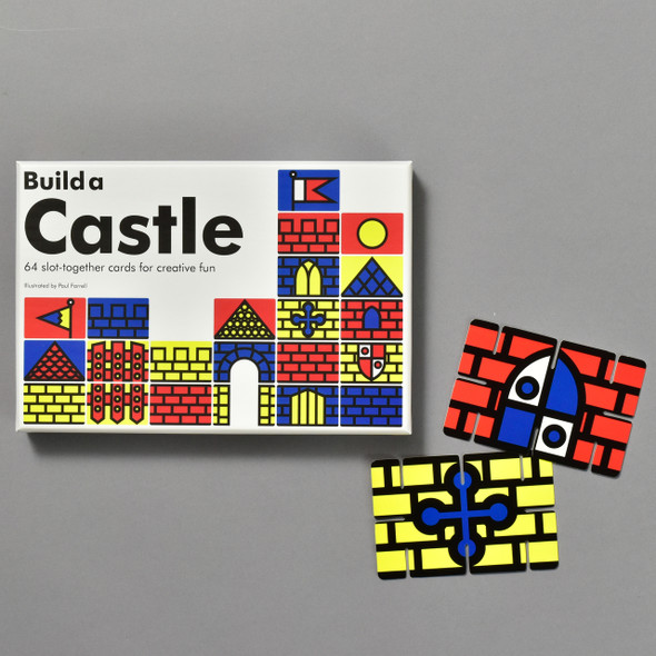 Build a Castle, box and pieces