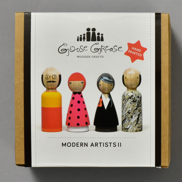The Modern Artist's II Peg Dolls; box