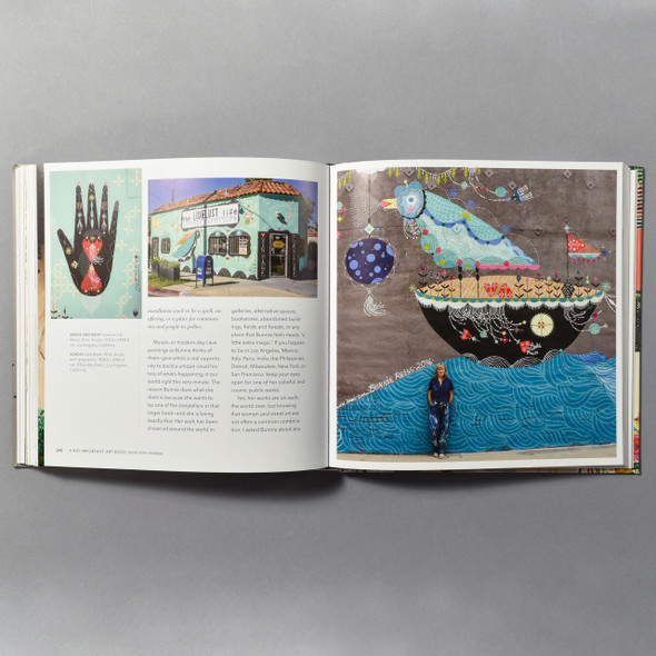 "Interior of the book ""A Big Important Art Book: Now With Women!"" By Danielle Krysa"