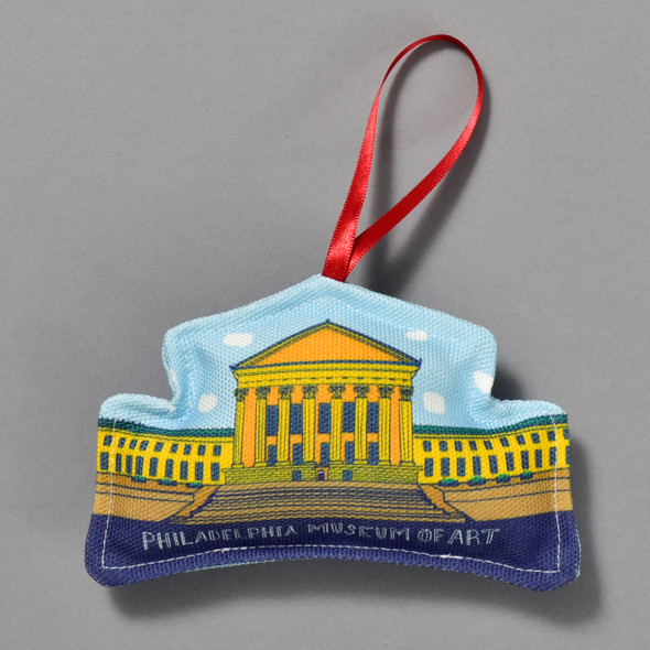 Philadelphia Museum of Art Building Ornament by Ana Thorne
