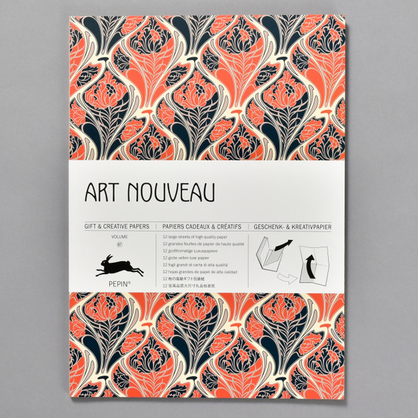 Art Nouveau Gift and Creative Wrap Papers Vol 87, front