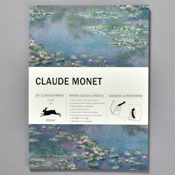 Monet Gift and Creative Wrap Papers Vol 101, front