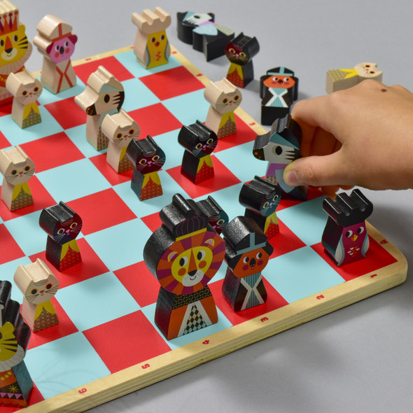 My First Chess Game with hand
