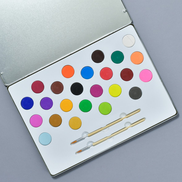 Rainbow Painting Kit, inside