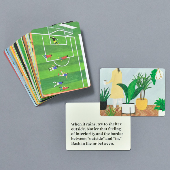 Ways of Tuning Your Senses, cards