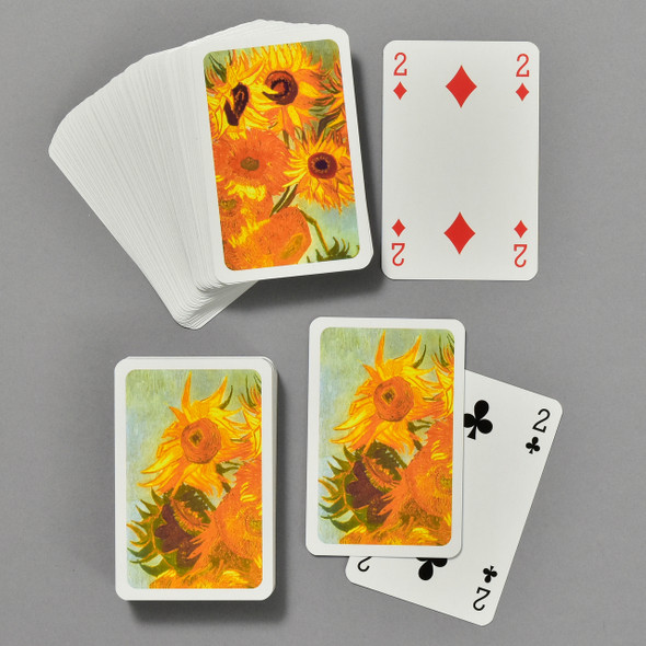 Vincent van Gogh Sunflowers Bridge Set, cards