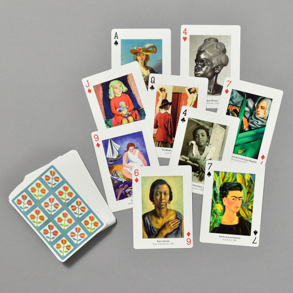 Women Artists Playing Cards, cards