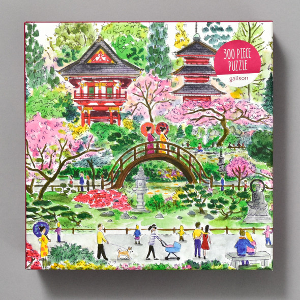 Japanese Tea Garden Puzzle by Michael Storrings