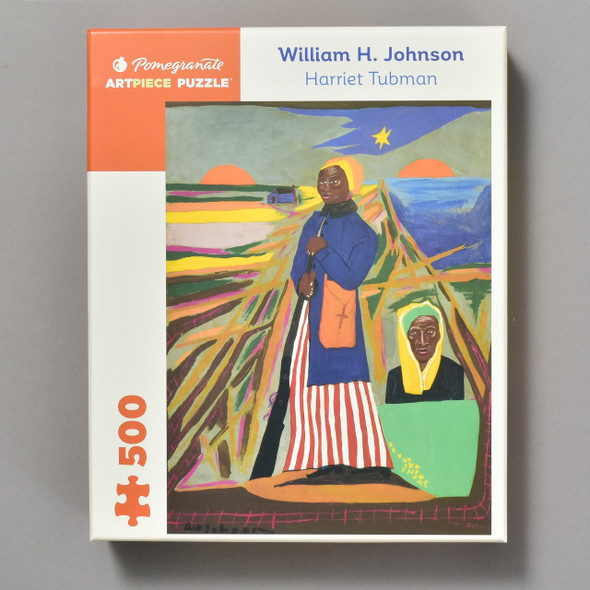 Harriet Tubman Puzzle by William H. Johnson
