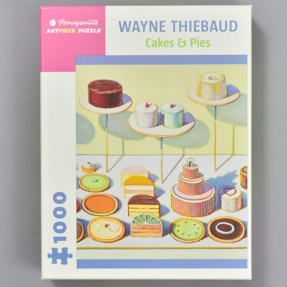 Wayne Thiebaud: Cakes & Pies Puzzle, front of box