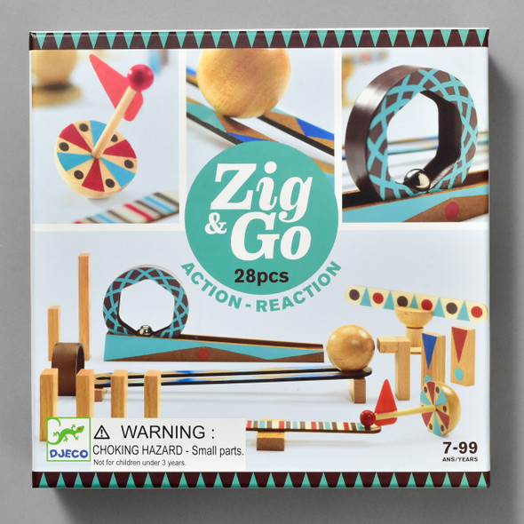 Zig & Go, front of box