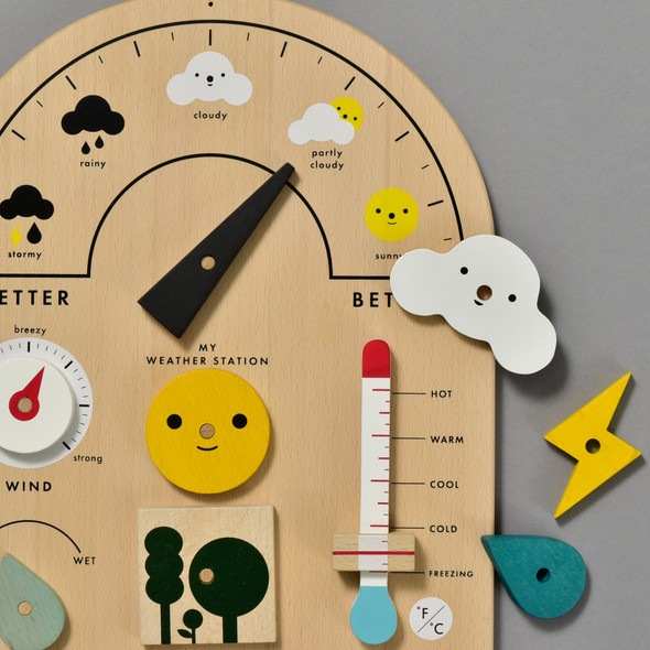 My Weather Station by Moon Picnic, close up