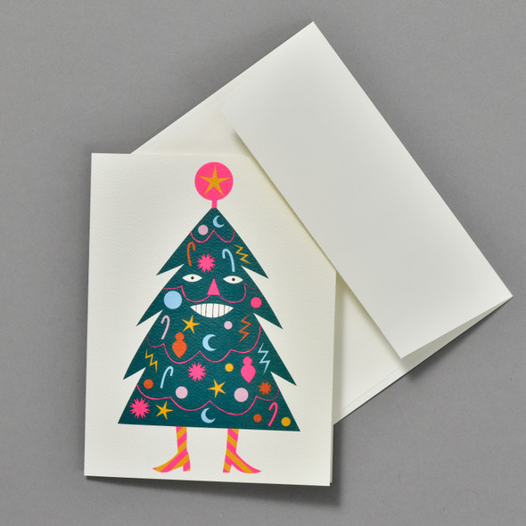 Happiest Holiday Tree Boxed Set, card and envelope