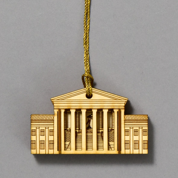 Philadelphia Museum of Art Matchbox Miniature Ornament