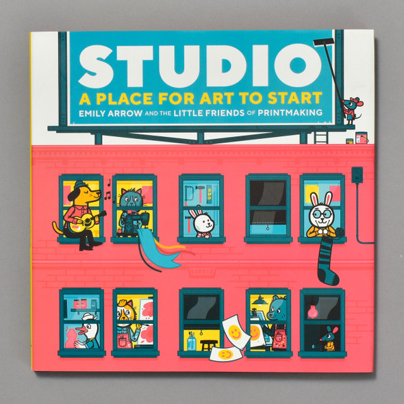 Studio A Place for Art to Start front cover