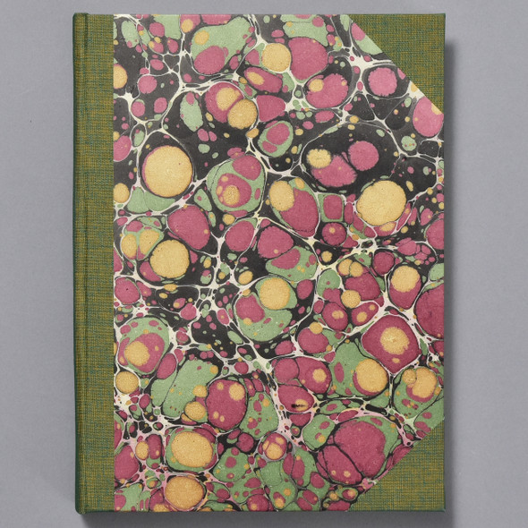 Marbled Cover Sketchbook by Bookgrrl Bindery; cover image