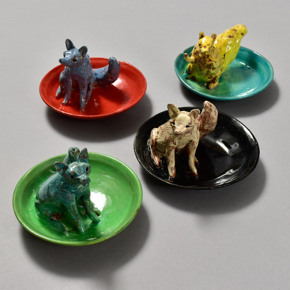 Critter Ring Holders by Priscilla Dahl - 4 ring holders (sold seperately)