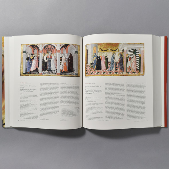 "Interior of the book ""Italian Paintings: 1250 - 1450"""