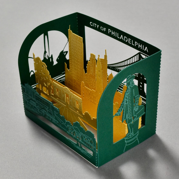 Philadelphia Pop Up Card