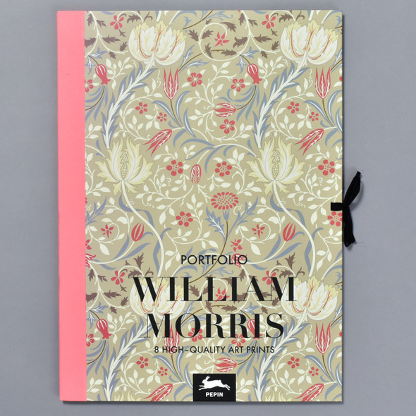 William Morris Art Portfolio, front of portfolio