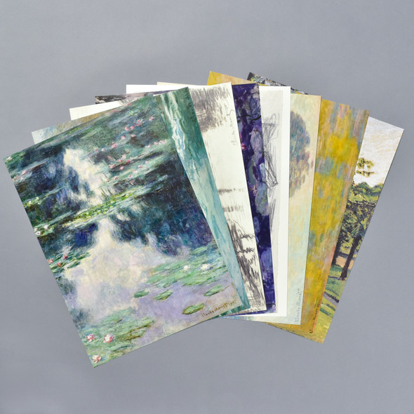 Monet Art Portfolio, prints