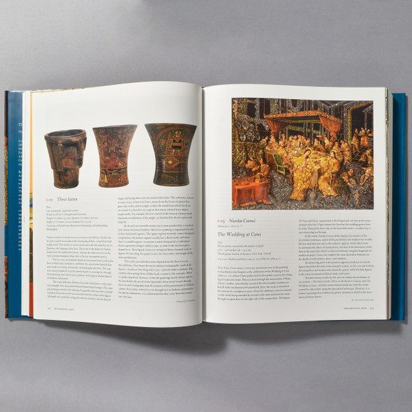 "Interior of the book ""The Arts In Latin America: 1492 - 1820"""