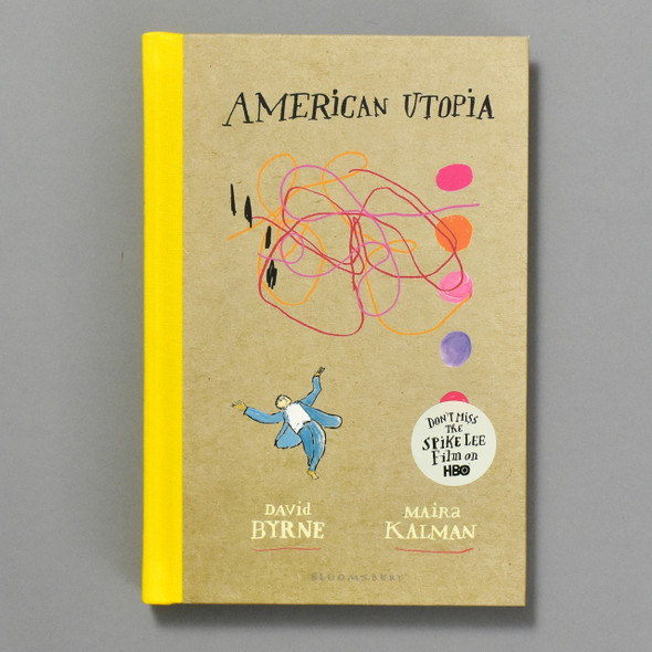American Utopia, front of book