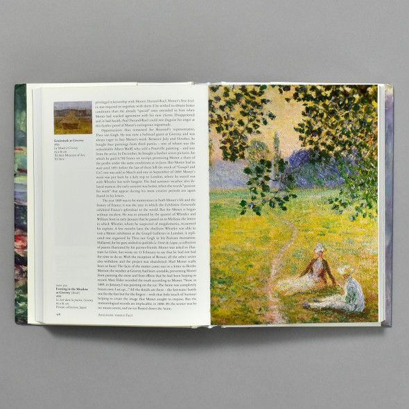 Pages from the book Monet: The Triumph of Impressionism