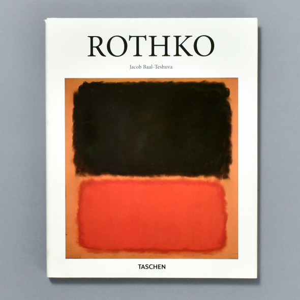 Front of the book Rothko