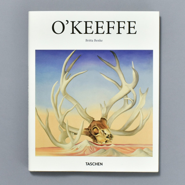 "Front cover of the book ""O'Keeffe"""