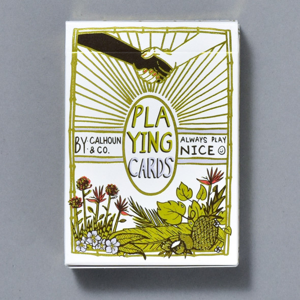 Always Play Nice Playing Cards front of box