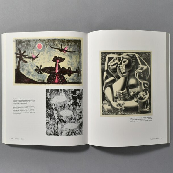 "Interior of the book ""Mexico And Modern Printmaking: A Revolution In The Graphic Arts, 1920 - 1950"""