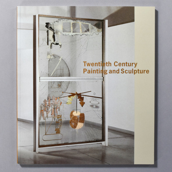 "Cover of the book ""Twentieth Century Painting And Sculpture"""